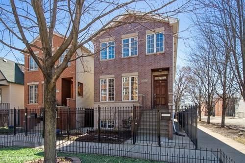 3537 W Palmer, Chicago, IL 60647 Logan Square