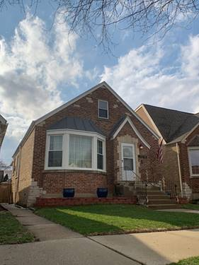 3718 N Odell, Chicago, IL 60634 Belmont Heights