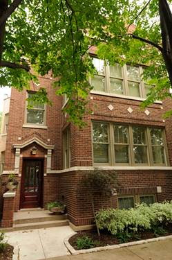 3633 N Marshfield, Chicago, IL 60613 West Lakeview