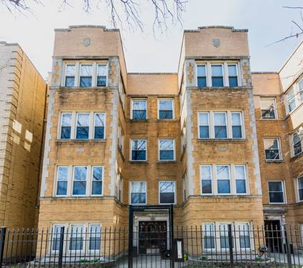 4052 N Sacramento Unit G, Chicago, IL 60618 Irving Park