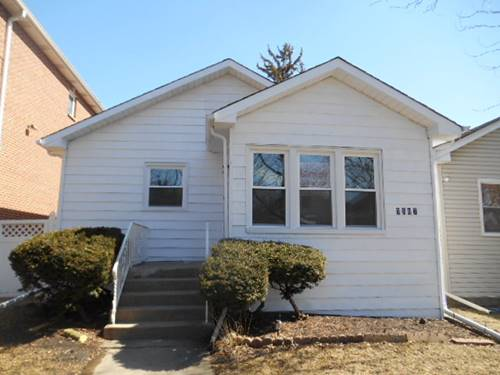 3507 N Oak Park, Chicago, IL 60634 Schorsch Village