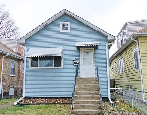 3724 N Osceola, Chicago, IL 60634 Belmont Heights