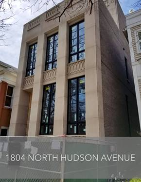 1804 N Hudson, Chicago, IL 60614 Lincoln Park
