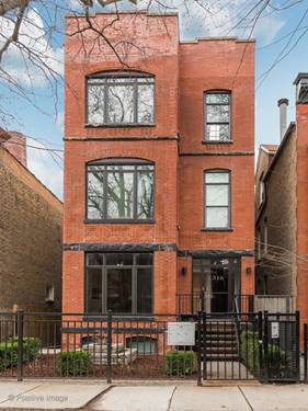 1316 N Oakley Unit 2, Chicago, IL 60622 Wicker Park