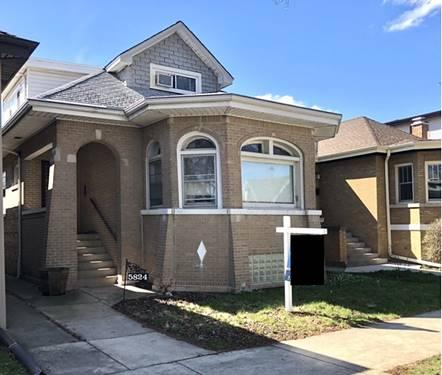 5824 N Talman, Chicago, IL 60659 West Ridge