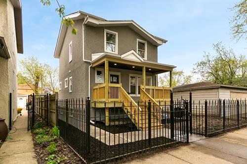 3714 W Sunnyside, Chicago, IL 60625 Albany Park