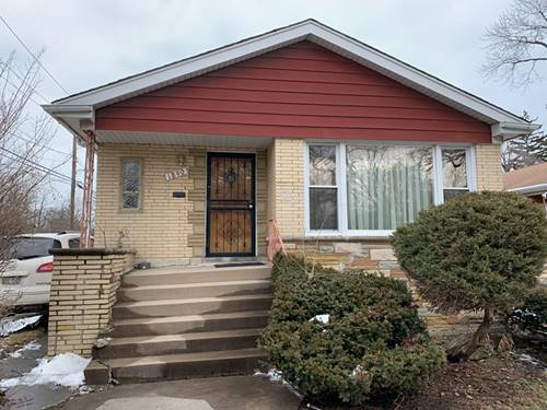 1890 W 108th, Chicago, IL 60643