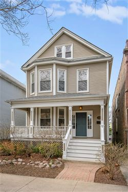 3920 N Seeley, Chicago, IL 60618 Northcenter