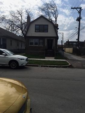 11912 S Stewart, Chicago, IL 60628 West Pullman