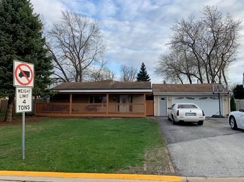 5507 W Mill, Monee, IL 60449