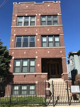 2448 N Campbell Unit 1, Chicago, IL 60647 Logan Square