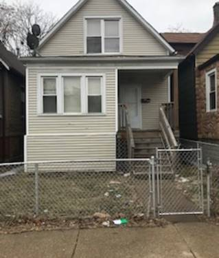 7222 S Peoria, Chicago, IL 60621 Englewood
