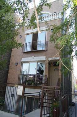 1717 W Julian Unit 2, Chicago, IL 60622 Wicker Park