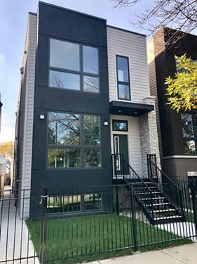 2914 N Washtenaw, Chicago, IL 60618 Avondale