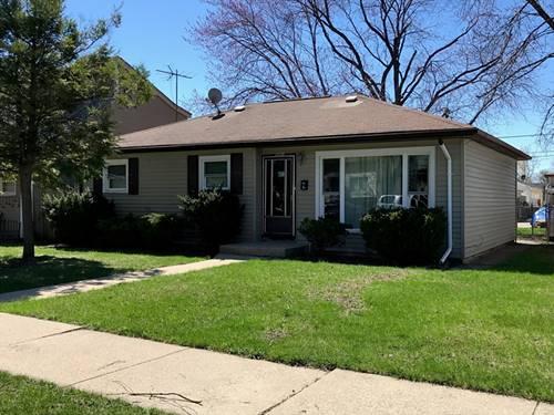 1708 N 39th, Stone Park, IL 60165