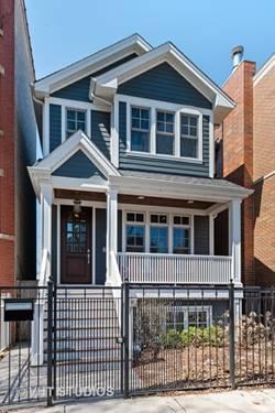 3336 N Claremont, Chicago, IL 60618 Roscoe Village