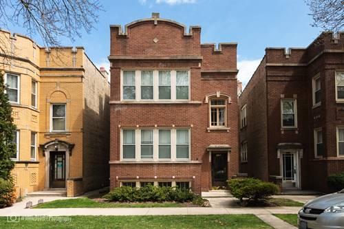 5917 N Maplewood, Chicago, IL 60659 West Ridge