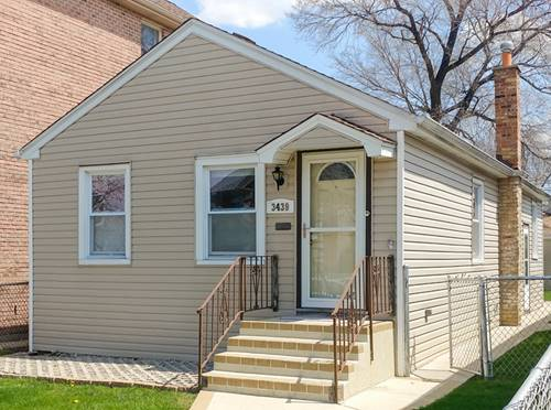 3439 N Overhill, Chicago, IL 60634 Belmont Heights