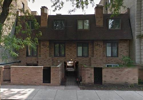 1853 N Cleveland Unit F, Chicago, IL 60614