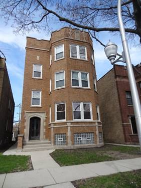 6332 N Fairfield Unit GARDEN, Chicago, IL 60659 West Ridge