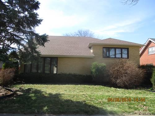 9832 S Kilbourn, Oak Lawn, IL 60453