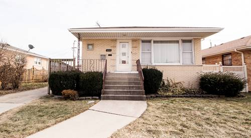 3645 W 113th, Chicago, IL 60655 Mount Greenwood Heights