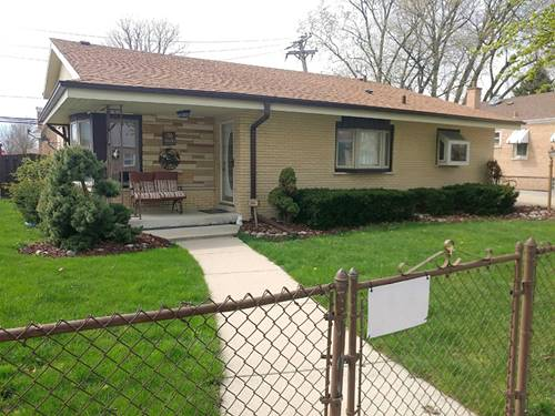 3600 W 114th, Chicago, IL 60655 Mount Greenwood Heights