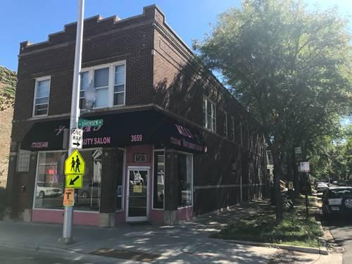 3659 W Diversey, Chicago, IL 60647 Logan Square