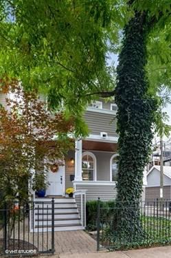 1943 W Wolfram, Chicago, IL 60657 Hamlin Park