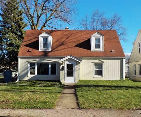 4136 W 100th, Oak Lawn, IL 60453