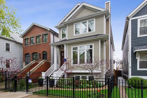 2425 N Campbell, Chicago, IL 60647 Logan Square