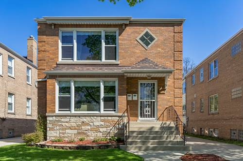 5312 W Sunnyside, Chicago, IL 60630 Jefferson Park