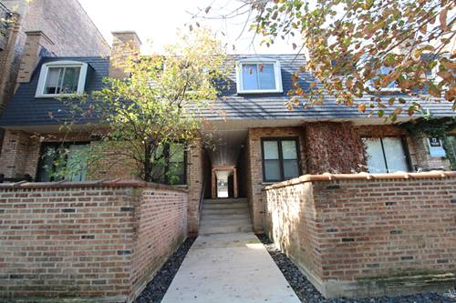 2714 N Mildred Unit 3, Chicago, IL 60614 Lincoln Park