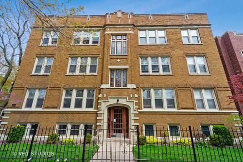 1624 W Grace Unit G, Chicago, IL 60613 West Lakeview