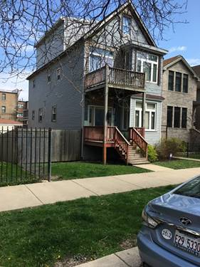 1931 N Whipple, Chicago, IL 60647 Logan Square