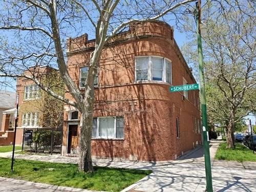 5400 W Schubert, Chicago, IL 60639 Belmont Cragin