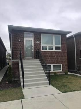 3619 S Artesian, Chicago, IL 60632 Brighton Park