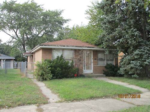 12812 S Manistee, Chicago, IL 60633 Hegewisch