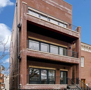1822 W Rice Unit 2, Chicago, IL 60622 East Village