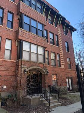 5313 N Kenmore Unit 1, Chicago, IL 60640 Edgewater