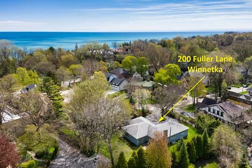 200 Fuller, Winnetka, IL 60093