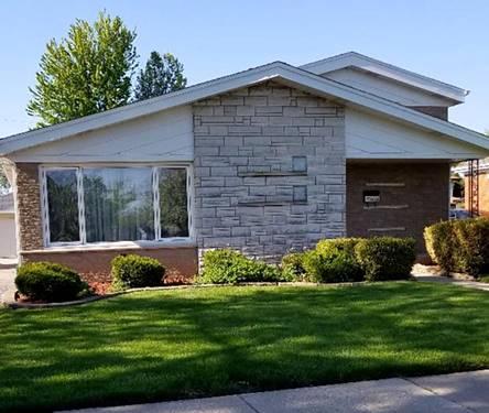 4632 W 107, Oak Lawn, IL 60453