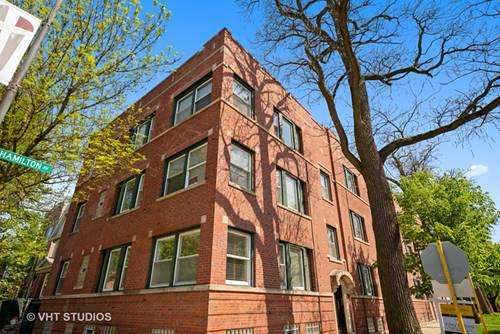 3557 N Hamilton Unit 1, Chicago, IL 60618 Roscoe Village