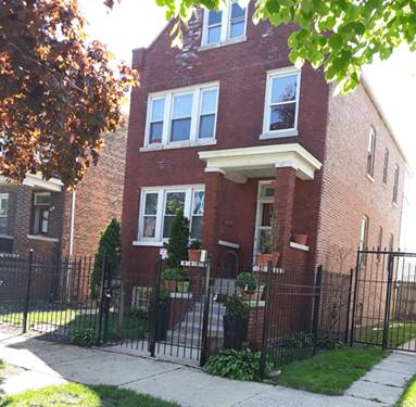 5010 S Fairfield, Chicago, IL 60632 Gage Park