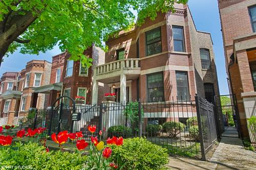 3513 N Claremont, Chicago, IL 60618 Roscoe Village