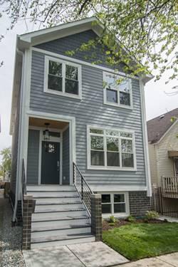 3029 N Elbridge, Chicago, IL 60618 Avondale
