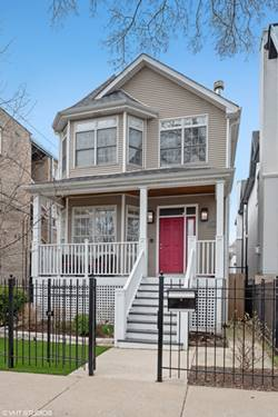 3414 N Bell, Chicago, IL 60618 Roscoe Village