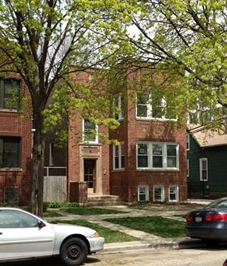 1618 W Thorndale, Chicago, IL 60660 Edgewater