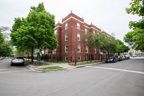 2717 N Sawyer Unit G, Chicago, IL 60647 Logan Square