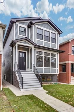 2534 W Berteau, Chicago, IL 60618 Northcenter